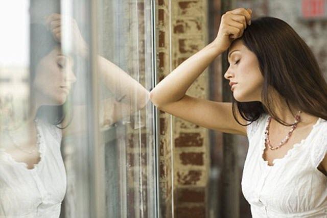 Femeie depresiva