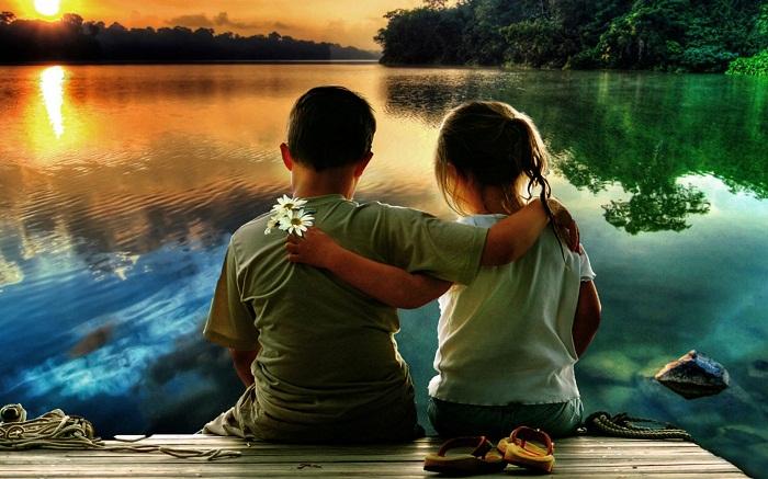 Copii prieteni